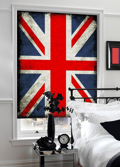 Ролеты с изображением флага