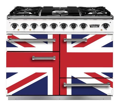 Кухонная плита с британским флагом