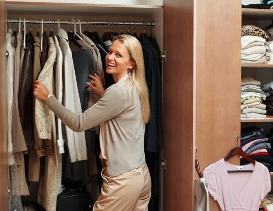 как организовать порядок в шкафу