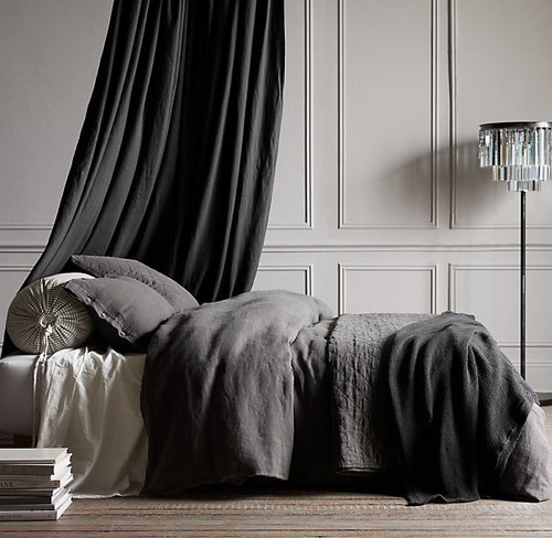 Лен в спальне фото