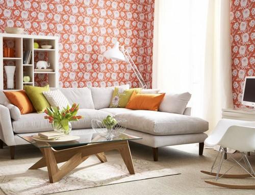 Обивка дивана льняной тканью