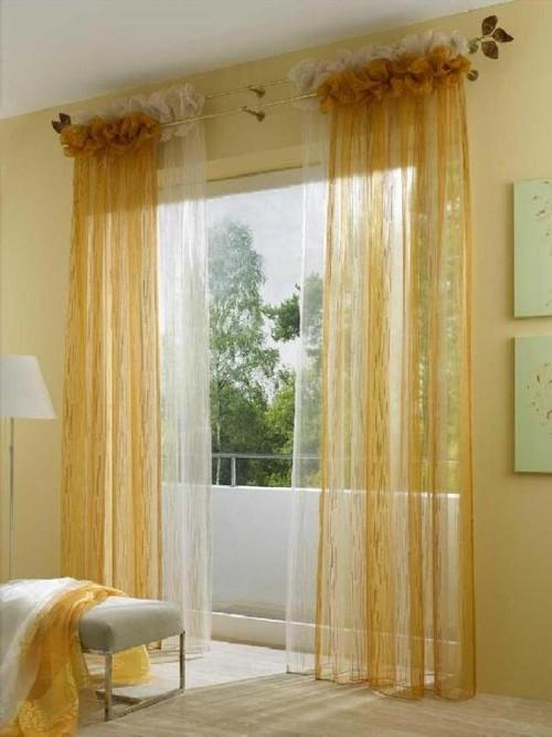 Красивые шторы на кулиске фото