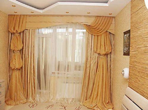Оригинальные шторы песочные часы