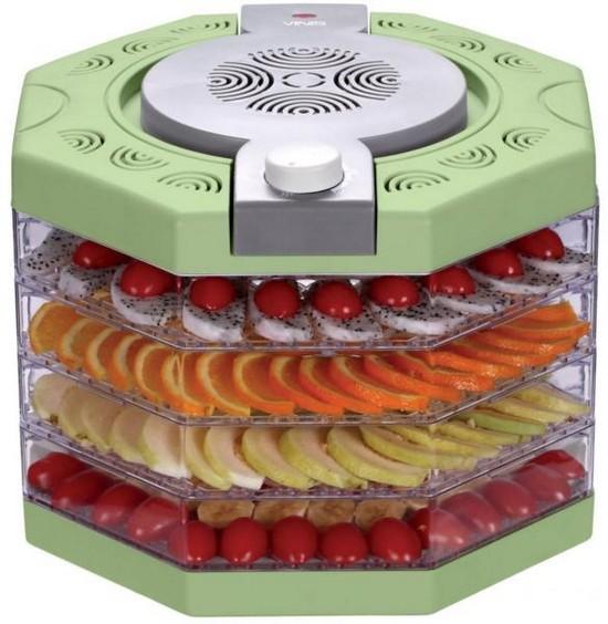 Виды сушилок для фруктов и овощей