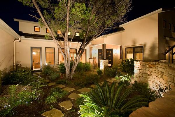 Садовое освещение в ландшафтном дизайне