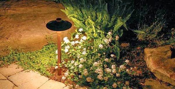 Светильники для освещения сада