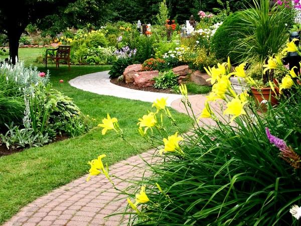 Садовые дорожки по фен-шуй