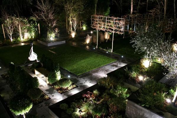Садовое освещение по фен-шуй