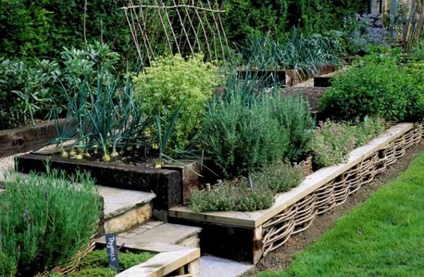 Зона огорода на участке