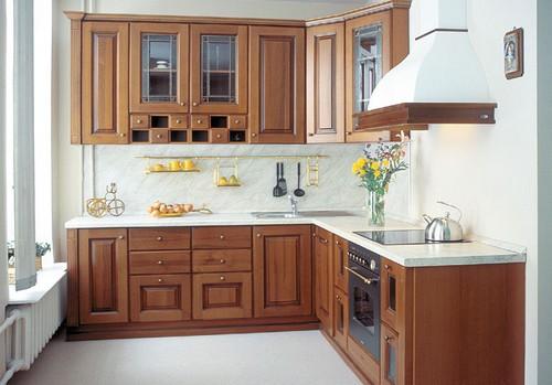 Расположение мебели в маленькой квадратной кухне