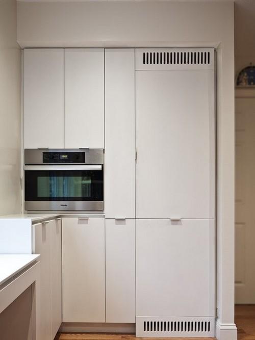 Дизайнерские идеи для маленькой кухни
