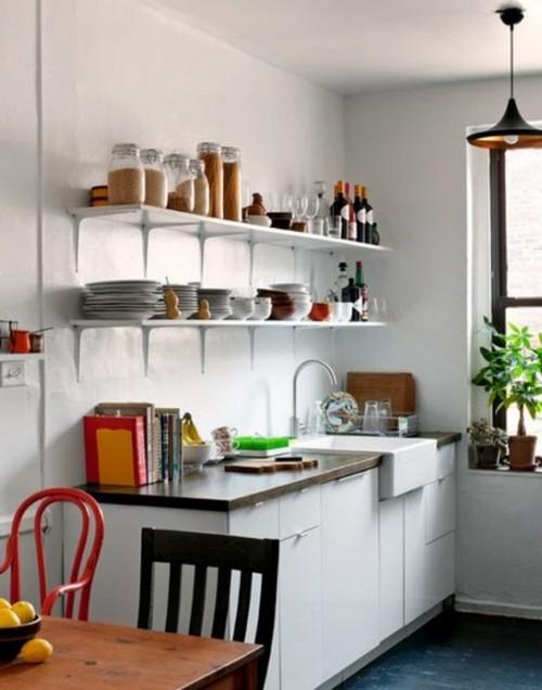 маленькая кухня гостиная дизайн фото