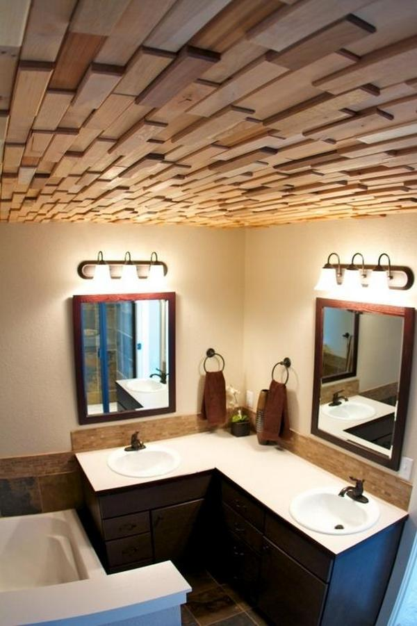 ЗД плитка на потолок