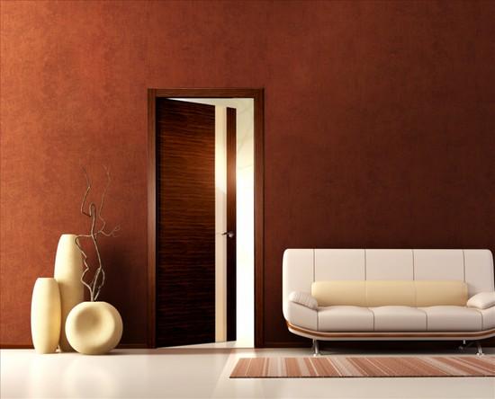 Как оклеить дверь самоклейкой