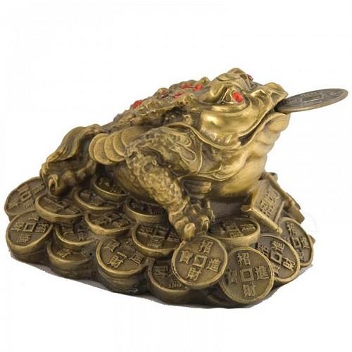 Статуэтка жабы по фен-шуй