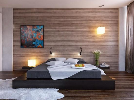 Расположение бра в интерьере спальни фото
