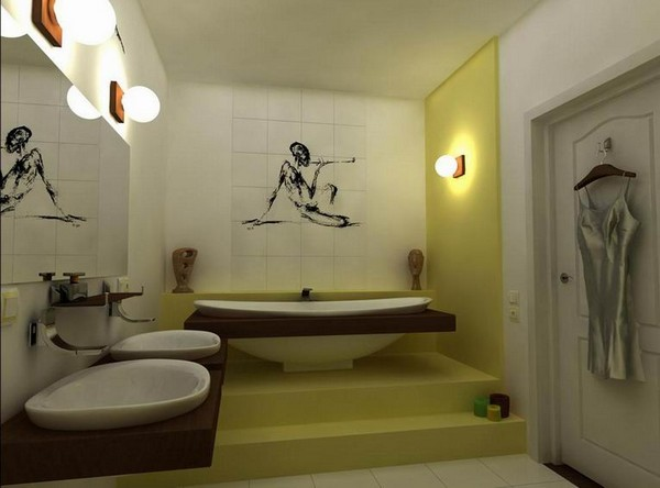 фен шуй ванной комнаты фото