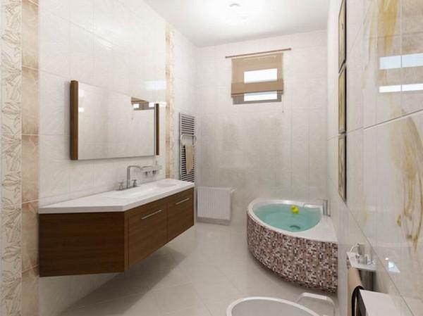 цвет плитки в ванной по фен шуй