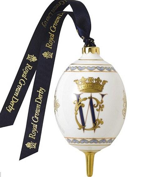 Елочные игрушки из фарфора коллекция Royal Crown Derby