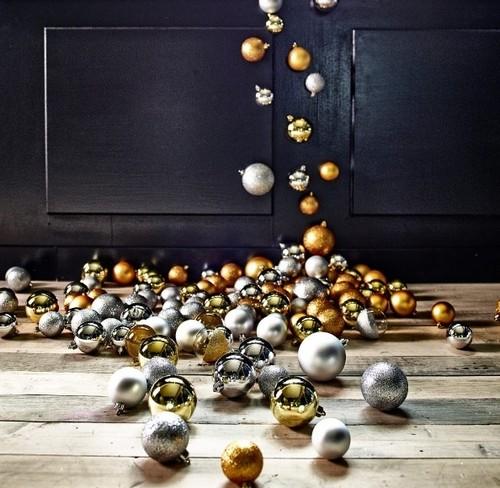 Елочные шары от Икеа 2015