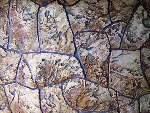 Фактурная штукатурка с имитацией камня