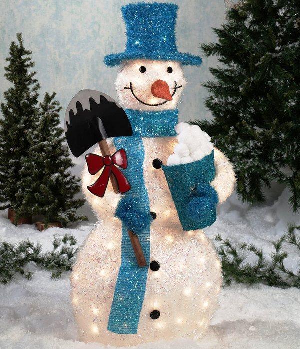 Новогодний декор 2015 снеговик