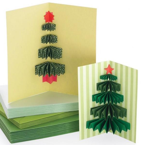 Объемные новогодние открытки фото