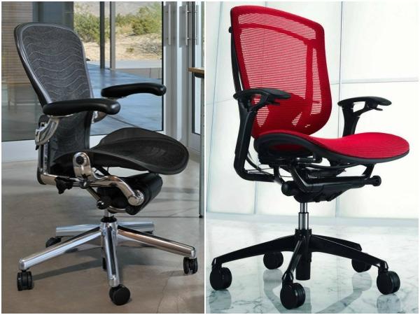 Стильные офисные кресла из сетки для персонала