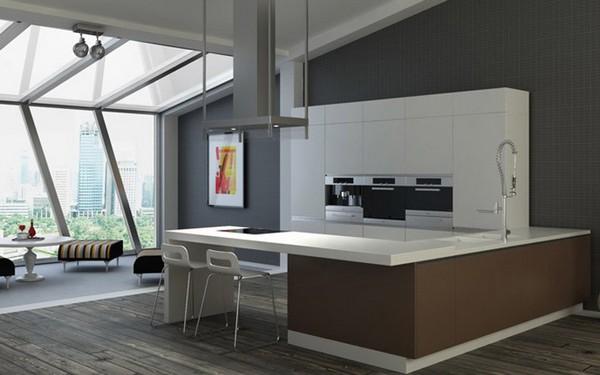 стиль техно в интерьере квартиры