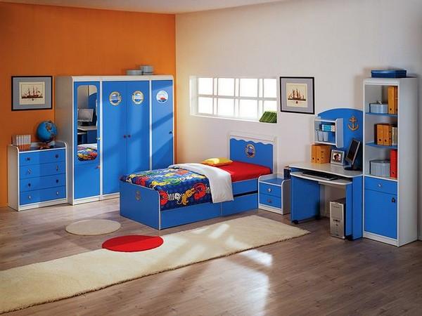 Детская мебель для комнаты мальчика фото