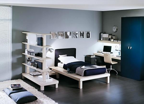 Комната для мальчика-подростка фото