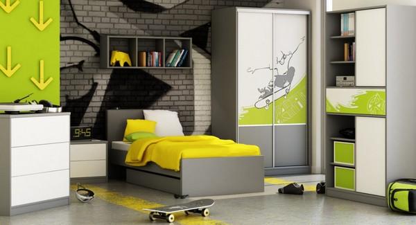 Дизайн комнаты для подростка мальчика