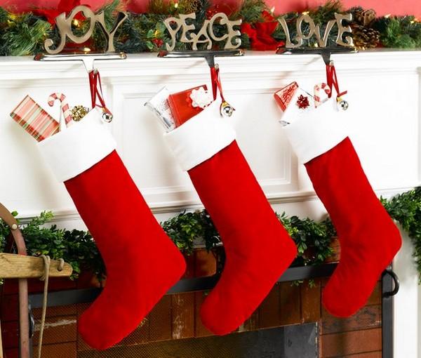 Носки для подарков на Рождество