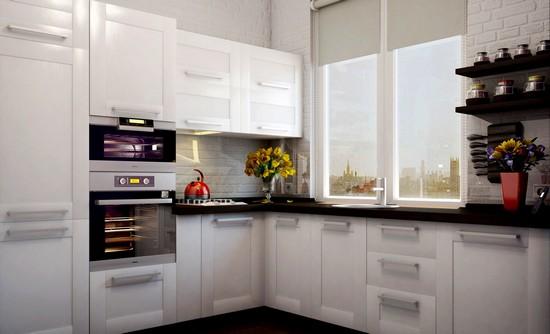 Как расширить пространство малогабаритной кухни