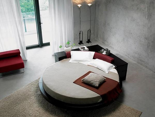 фото покрывало для круглой кровати