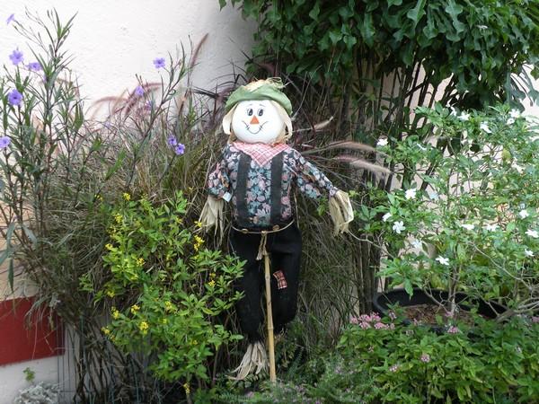 садовые чучела своими руками