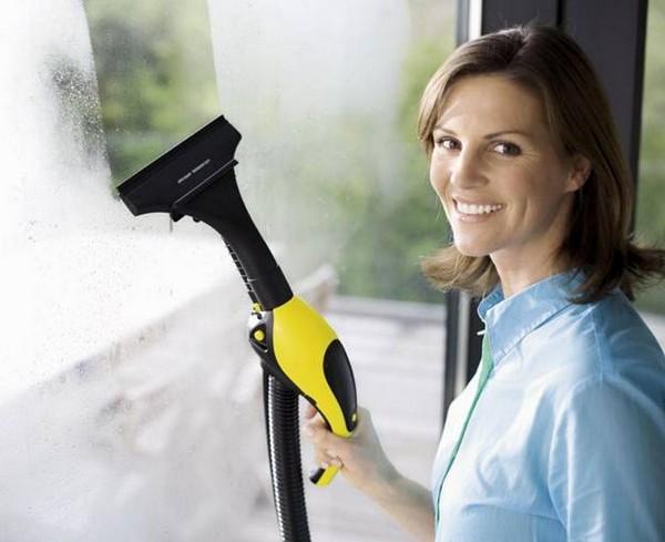 Пароочиститель для мытья окон