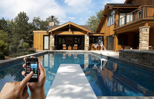 Возможности умного дома для чистки бассейна