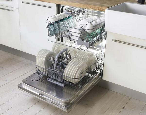 Экономия электроэнергии с посудомойкой