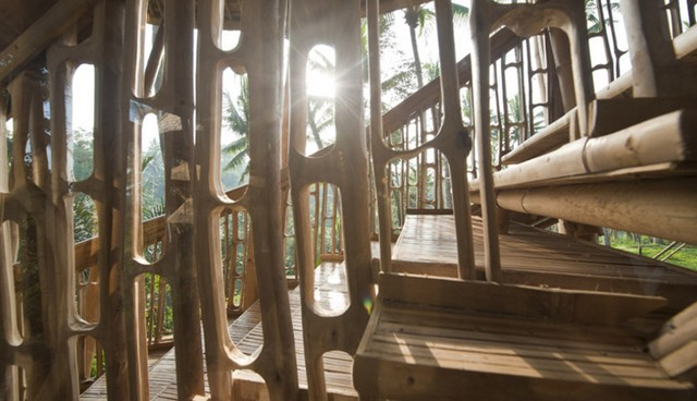 Как построить дом из бамбука