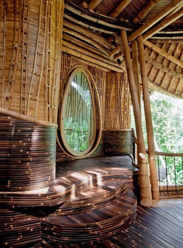 Почему полезно жить в доме из бамбука