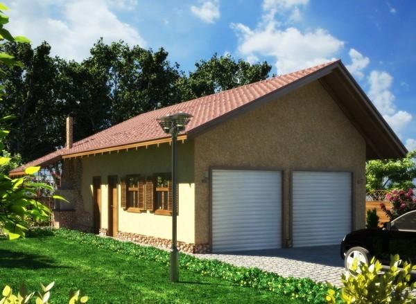 Как построить гараж на участке отдельно от дома