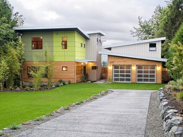 Красивые деревянные гаражи фото