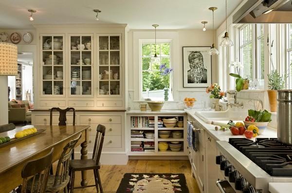 Дизайн кухни в стиле бистро