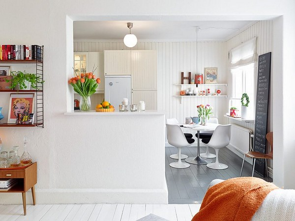 Кухня в стиле бистро фото