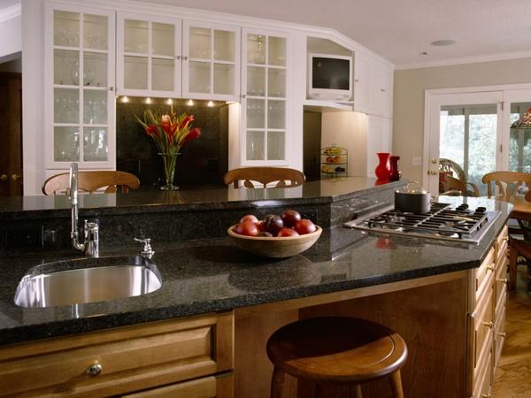 Столешница-барная стойка для кухни-бистро