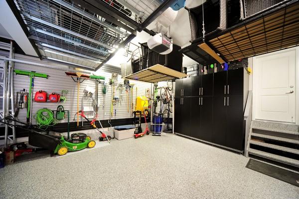 Подвесные системы хранения для гаража фото