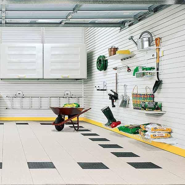 Красивое обустройство гаража фото