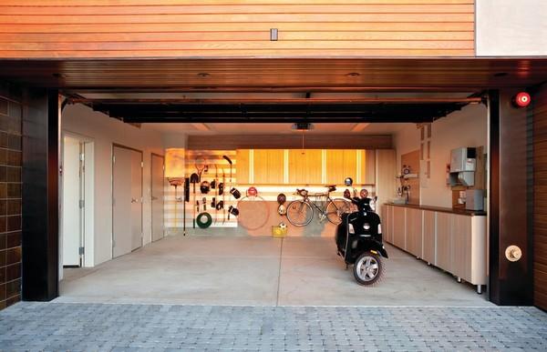 Дизайн гаража внутри фото