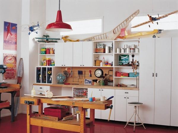 Креативные идеи обустройства гаража